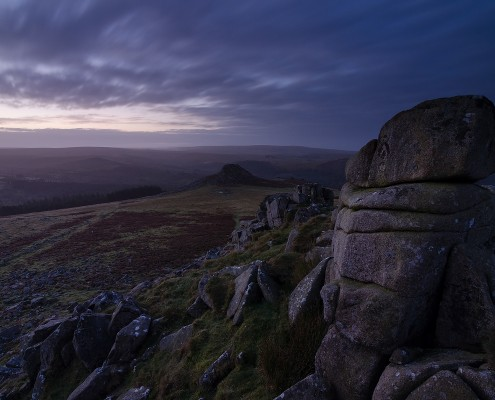 Dartmoor; National Park; Devon; photography; Sharpitor; Leather tor