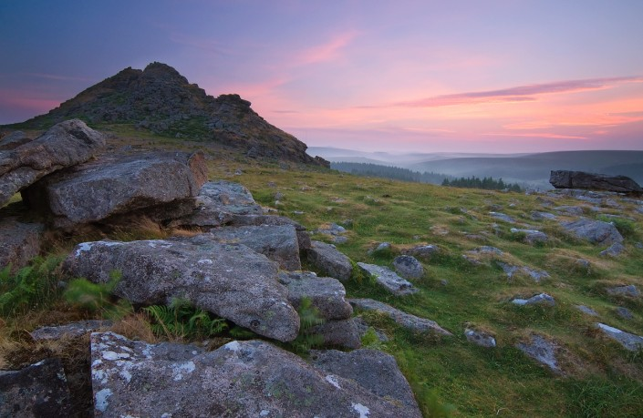 Dartmoor; National Park; Devon; photography; Leather tor