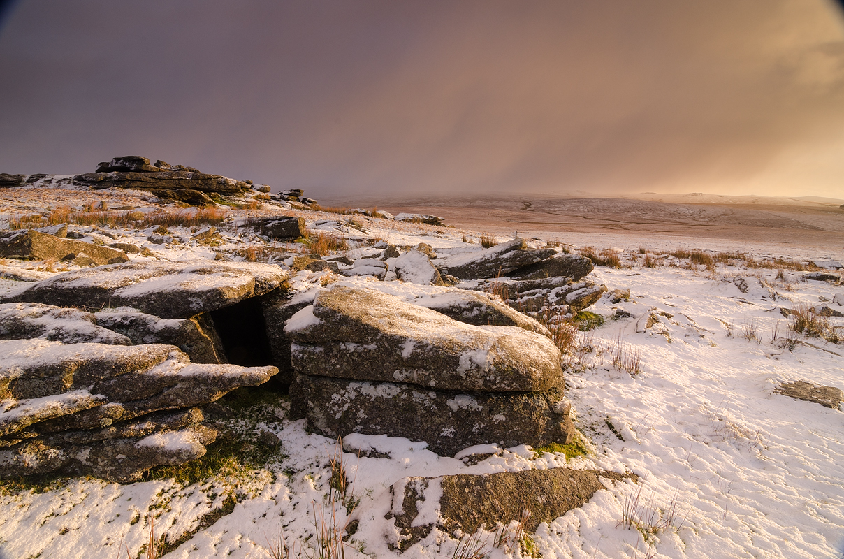 Dartmoor; National Park; Devon; photography; Great Mis tor; snow