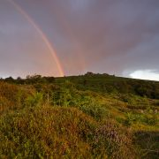 Dartmoor National Park; Devon; photography; rainbow